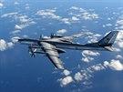 Ruský bombardér Tu-95, ke kterému vystartovaly koncem října britské...
