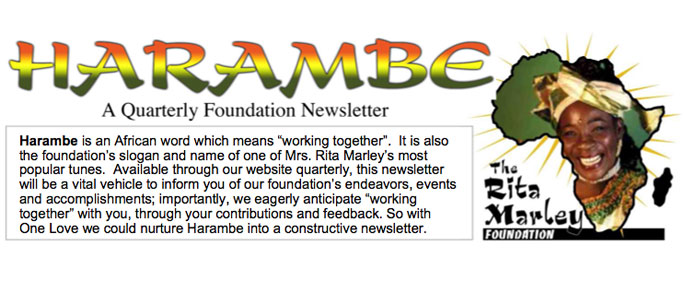 Harambe Newsletter