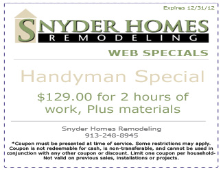 Home Remodeling Coupon 2