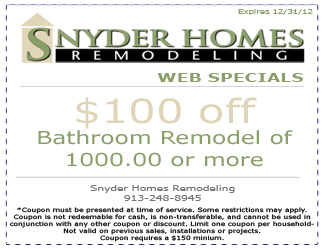 Home Remodeling Coupon 1