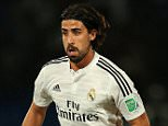 MARRAKECH, MOROCCO - DECEMBER 16: Sami Khedira of Real Madrid in action during the FIFA Club World Cup Semi Final match between Cruz Azul and Real Madrid CF at Marrakech Stadium on December 16, 2014 in Marrakech, Morocco. (Photo by Chris Brunskill Ltd/Getty Images)