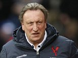 Neil Warnock Manager of Crystal Palace