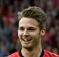 Nick Powell celebrates scoring against Wigan. September 15th 2012 - Manchester, UK- MANCHESTER UNITED V WIGAN - Man Utd  PIcture by Ian Hodgson/Daily Mail . REXMAILPIX.