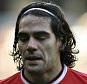Dejected Radamel Falcao  Manchester United