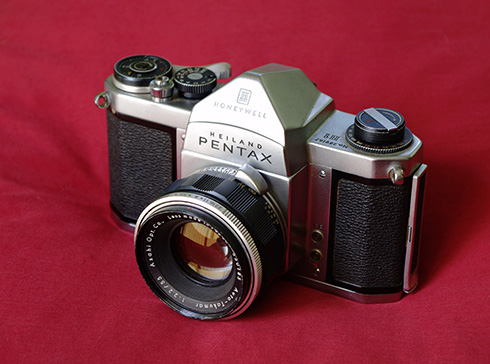 Heiland Pentax H1 — my first SLR, and now a wiki illustration