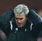 STOKE ON TRENT, ENGLAND - DECEMBER 28:  Alan Irvine manager of West Bromwich Albion reacts during the Barclays Premier League match between Stoke City and West Bromwich Albion at Britannia Stadium on December 28, 2014 in Stoke on Trent, England.  (Photo by Chris Brunskill/Getty Images)