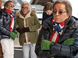 Picture Shows: Giancarlo Giametti, Valentino Garavani  December 28, 2014\n \n Italian designer Valentino Garavani and his partner Giancarlo Giametti along with their friends are spotted leaving  Restaurante Club Eagle Wassengrat in Gstaad, Switzerland.\n \n Exclusive All Rounder\n UK Rights Only\n Pictures by : FameFlynet UK © 2014\n Tel : +44 (0)20 3551 5049\n Email : info@fameflynet.uk.com