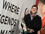 McIlroy endured an awkward moment'Sweet Caroline' was played during his half-time TV interview at Ulster