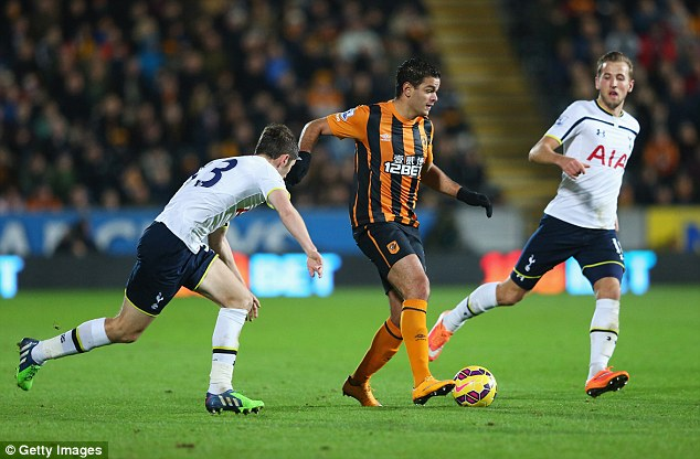 The playmaker - on loan from Newcastle - has failed to impress for Steve Bruce's side