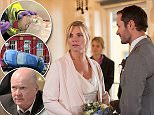WARNING: Embargoed for publication until: 16/12/2014 - Programme Name: EastEnders - TX: 01/01/2015 - Episode: 4988 (No. n/a) - Picture Shows: It's the day of Ronnie and Charlie's wedding but will everything go to plan.  Ronnie Mitchell (SAMANTHA WOMACK), Charlie Cotton (DECLAN BENNETT) - (C) BBC - Photographer: Jack Barnes