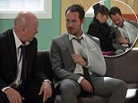 WARNING: Embargoed for publication until: 06/12/2014 - Programme Name: EastEnders - TX: 02/01/2015 - Episode: 4990 (No. n/a) - Picture Shows: ***HOLD BACK FOR COMMS.. Phil tells Charlie to step up and be with his son.  Phil Mitchell (STEVE MCFADDEN), Charlie Cotton (DECLAN BENNETT) - (C) BBC - Photographer: Jack Barnes