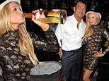 130816, Joanna Krupa seen celebrating New Year's Eve with husband Romain Zago at the club Mynt at Miami beach. Miami, Florida - Wednesday December 31, 2014. Photograph: Brett Kaffee/Thibault Monnier, © PacificCoastNews. Los Angeles Office: +1 310.822.0419 sales@pacificcoastnews.com FEE MUST BE AGREED PRIOR TO USAGE