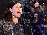 NEW YORK, NY - DECEMBER 31:  Idina Menzel performs during  Dick Clark's New Year's Rockin' Eve with Ryan Seacrest 2015 on December 31, 2014 in New York City.  (Photo by Mike Coppola/DCNYRE2015/Getty Images for dcp)