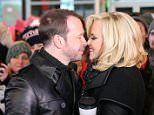 NEW YORK, NY - DECEMBER 31:  Donnie Wahlberg (L) and Jenny McCarthy attend Dick Clark's New Year's Rockin' Eve with Ryan Seacrest 2015 on December 31, 2014 in New York City.  (Photo by Neilson Barnard/DCNYRE2015/Getty Images for dcp)