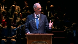 Attorney General Eric Holder Addresses a My Brother's Keeper Community Challenge Event