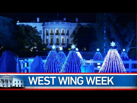 Welcome to this special, Holiday Season edition of West Wing Week. While we certainly hope you all are taking some time off to reflect on the meaning of the holidays, and spend time with your loved ones, we also want to offer up some of our favorite White House holiday moments from this festive time of year.