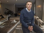 Football feature: Phil Neville at home in Manchester.