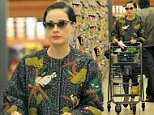 Model Dita Von Teese keeps a low profile while out grocery shopping at Gelson's in Los Angeles.\nFeaturing: Dita Von Teese\nWhere: Los Angeles, California, United States\nWhen: 04 Jan 2015\nCredit: Cousart/JFXimages/WENN.com