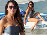 03.JANUARY.2015 - BARBADOS - WEST INDIES\n**EXCLUSIVE ALL ROUND PICTURES**\nLIZZIE CUNDY ON THE BEAUTIFUL ISLAND OF BARBADOS WHERE SHE WALKED ALONG THE BEACH IN A SKIMPY LITTLE SWIMSUIT.\nBYLINE MUST READ : XPOSUREPHOTOS.COM\n***UK CLIENTS - PICTURES CONTAINING CHILDREN PLEASE PIXELATE FACE PRIOR TO PUBLICATION ***\n**UK CLIENTS MUST CALL PRIOR TO TV OR ONLINE USAGE PLEASE TELEPHONE 0208 344 2007**