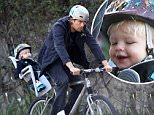 Picture Shows: Josh Duhamel, Axl Duhamel  January 03, 2015\n \n Actor and proud dad Josh Duhamel takes his son Axl for a bicycle ride in Brentwood, California. Josh has been busy as of late working on his new TV series 'Battle Creek'.\n \n Non-Exclusive\n UK RIGHTS ONLY\n \n Pictures by : FameFlynet UK © 2015\n Tel : +44 (0)20 3551 5049\n Email : info@fameflynet.uk.com