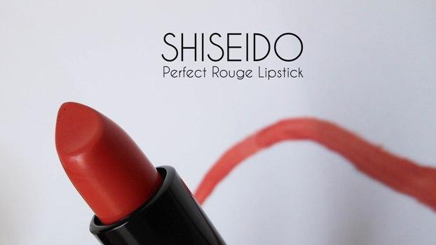 Shiseido Perfect Rouge Lipstick 'Secret'