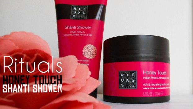 Rituals Honey Touch & Shanti Shower