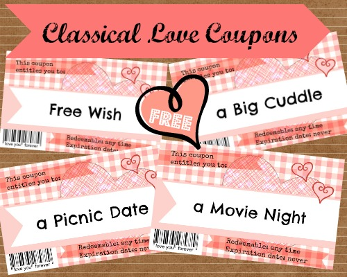 free printable love coupons, short love notes,sweet love notes,printable love coupons