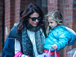 Bethenny Frankel picking up her daughter Bryn from school on an exceptionally cold day in New York City Featuring: Bethenny Frankel, Bryn Hoppy Where: New York City, New York, United States When: 07 Jan 2015 Credit: WENN.com