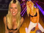 EROTEME.CO.UK FOR UK SALES: Contact Caroline 44 207 431 1598 Celebrity social network pictures. Picture shows: Tara Reid in her bra bowling. NON-EXCLUSIVE:  Wednesday 7th January 2015 Job: 150107UT2  London, UK EROTEME.CO.UK 44 207 431 1598 Disclaimer note of Eroteme.co.uk: Eroteme Ltd does not claim copyright for this image. This image is merely a supply image and payment will be on supply/usage fee only.