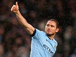 MANCHESTER, ENGLAND - JANUARY 01:  Frank Lampard of Manchester City celebrates after scoring during the Barclays Premier League match between Manchester City and Sunderland at Etihad Stadium on January 1, 2015 in Manchester, England.  (Photo by Alex Livesey/Getty Images)