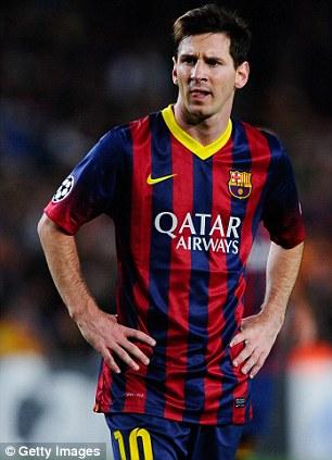 Geniuses: Cristano Ronaldo and Lionel Messi will go head to head once again in Sunday's El Clasico