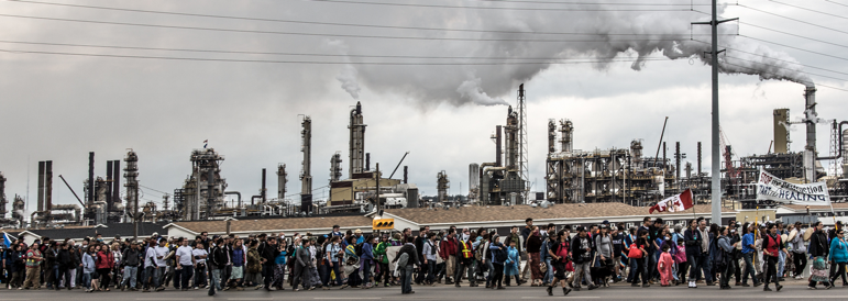 Tar Sands healing walk 2013, image by Zack Embree