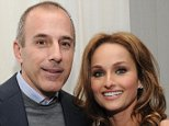 """NEW YORK, NY - MARCH 26:  Television personalities Matt Lauer and Giada De Laurentiis attend Giada DeLaurentiis' """"Weeknights With Giada"""" book launch party at the Andaz Hotel on March 26, 2012 in New York City.  (Photo by Jason Kempin/Getty Images)"""