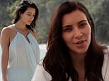@kimkardashian for the February 2015 issue on sale now in newsstands and for iPads. Watch the entire video interview at vogue.com.au. KIm Kardashian