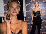NEW YORK, NY - JANUARY 12:  Erin Heatherton attends the Curve Sport Launch at Arthur Lounge at The Chester on January 12, 2015 in New York City.  (Photo by D Dipasupil/FilmMagic)