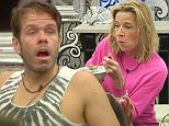 ****Ruckas Videograbs****  (01322) 861777\n*IMPORTANT* Please credit Channel 5 for this picture.\n12/01/15\nCelebrity Big Brother Bit on the Side\nDAY 6\nSEEN HERE: Grabs from the show of todays events (12/01/15) as Katie Hopkins is pissed off because she reckons Perez has got his way in getting Ken ejected and she doesnët like the way everyone has celebrated\nGrabs from today in the CBB house\nOffice  (UK)  : 01322 861777\nMobile (UK)  : 07742 164 106\n**IMPORTANT - PLEASE READ** The video grabs supplied by Ruckas Pictures always remain the copyright of the programme makers, we provide a service to purely capture and supply the images to the client, securing the copyright of the images will always remain the responsibility of the publisher at all times.\nStandard terms, conditions & minimum fees apply to our videograbs unless varied by agreement prior to publication.