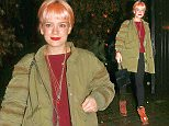 12.JANUARY.2015 - LONDON - UK LILY ALLEN CELEBRITIES ARRIVE FOR TOM FORD DINNER AT CHILTERN FIREHOUSE ON MONDAY 12TH JANUARY. BYLINE MUST READ : XPOSUREPHOTOS.COM ***UK CLIENTS - PICTURES CONTAINING CHILDREN PLEASE PIXELATE FACE PRIOR TO PUBLICATION *** **UK CLIENTS MUST CALL PRIOR TO TV OR ONLINE USAGE PLEASE TELEPHONE   44 208 344 2007 **