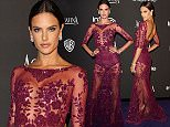 BEVERLY HILLS, CA - JANUARY 11:  Model Alessandra Ambrosio attends the 2015 InStyle And Warner Bros. 72nd Annual Golden Globe Awards Post-Party at The Beverly Hilton Hotel on January 11, 2015 in Beverly Hills, California.  (Photo by Rachel Murray/Getty Images)