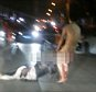 """Pic shows: Naked man is beating up a woman outside the hospital.\\n\\nA jilted wife who chopped her cheating husband¿s manhood off TWICE is facing jail.\\n\\nTwo-timing dad-of-five Fan Lung, 32, had used his wife¿s mobile to send lover Zhang Hung, 21, a saucy email from his marital home in the city of Shangqiu in central China¿s Henan province.\\n\\nBut after forgetting to log out of his account, stunned wife Feng, 30, came across the message and several others, and flew into a rage.\\n\\nGrabbing a pair of scissors she stormed into their bedroom where he was sleeping and snipped his  manhood off.\\n\\nBut after being taken to hospital where he had it sown back on, fuming Feng sneaked into his hospital room and cut it off again before throwing it out of a window.\\n\\nA hospital spokesman said: """"The first we were aware of what happened was when someone came into the reception area to say a naked man was beating up a woman outside the hospital.\\n\\n""""Staff rushed out to see what was ha"""