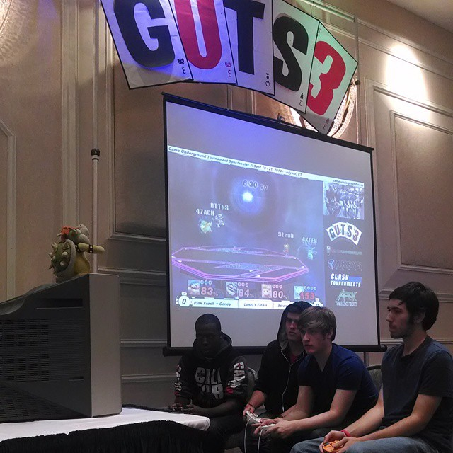 #GUTS3 #SmashBros stream stage! http://twitch.tv/clashtournaments