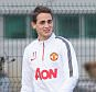 MANCHESTER, ENGLAND - JANUARY 09:  (EXCLUSIVE COVERAGE) Adnan Januzaj and Marouane Fellaini of Manchester United in action during a first team training session at Aon Training Complex on January 9, 2015 in Manchester, England.  (Photo by John Peters/Man Utd via Getty Images)