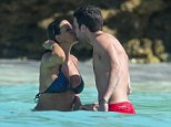 OIC - XCLUSIVEPIX.COM - EXCLUSIVE - MUST AGREE FEES BEFORE USAGE - CALL 077688 36669 -  Cesc Fabregas and his wife Daniella seen enjoying a holiday in Saint Barthelemy, France on the 12th January 2015. Photo Xclusive Pix/OIC 0203 174 1069  428484