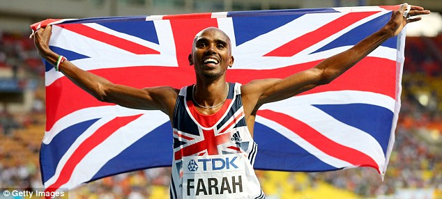Realistic: Farah does not believe he can break the world record or go beneath the hallowed two hour mark