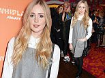 """LONDON, ENGLAND - JANUARY 14:  Diana Vickers attends a drinks reception ahead of a special screening of """"Whiplash"""" at The Soho Hotel on January 14, 2015 in London, England.  (Photo by David M. Benett/Getty Images)"""
