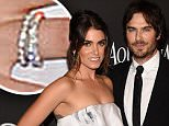 BEVERLY HILLS, CA - JANUARY 11:  Nikki Reed and Ian Somerhalder attends the 2015 InStyle And Warner Bros. 72nd Annual Golden Globe Awards Post-Party at The Beverly Hilton Hotel on January 11, 2015 in Beverly Hills, California.  (Photo by Jason Merritt/Getty Images)