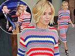 Mandatory Credit: Photo by Buzz Foto/REX (4376332a)  Sienna Miller  Sienna Miller out and about, New York, America - 13 Jan 2015