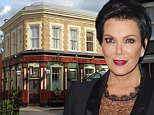 A general view of the Queen Victoria Pub 'The Queen Vic'.\n\n\nProgramme Name: EastEnders - TX: n/a - Episode: Generics (No. n/a) - Picture Shows:   Albert Square  - (C) BBC - Photographer: Jack Barnes
