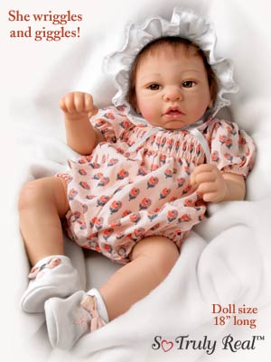 Dolls-Deanna Realistic Lifelike Baby Doll So Truly Real(TM)
