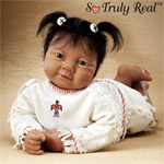 Dolls-Sandy Faber Baby Raven Wing at Three Lifelike Baby Doll