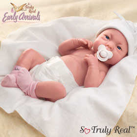 Dolls-A Lovely Gift Is Little Lauren- Lifelike Vinyl Doll